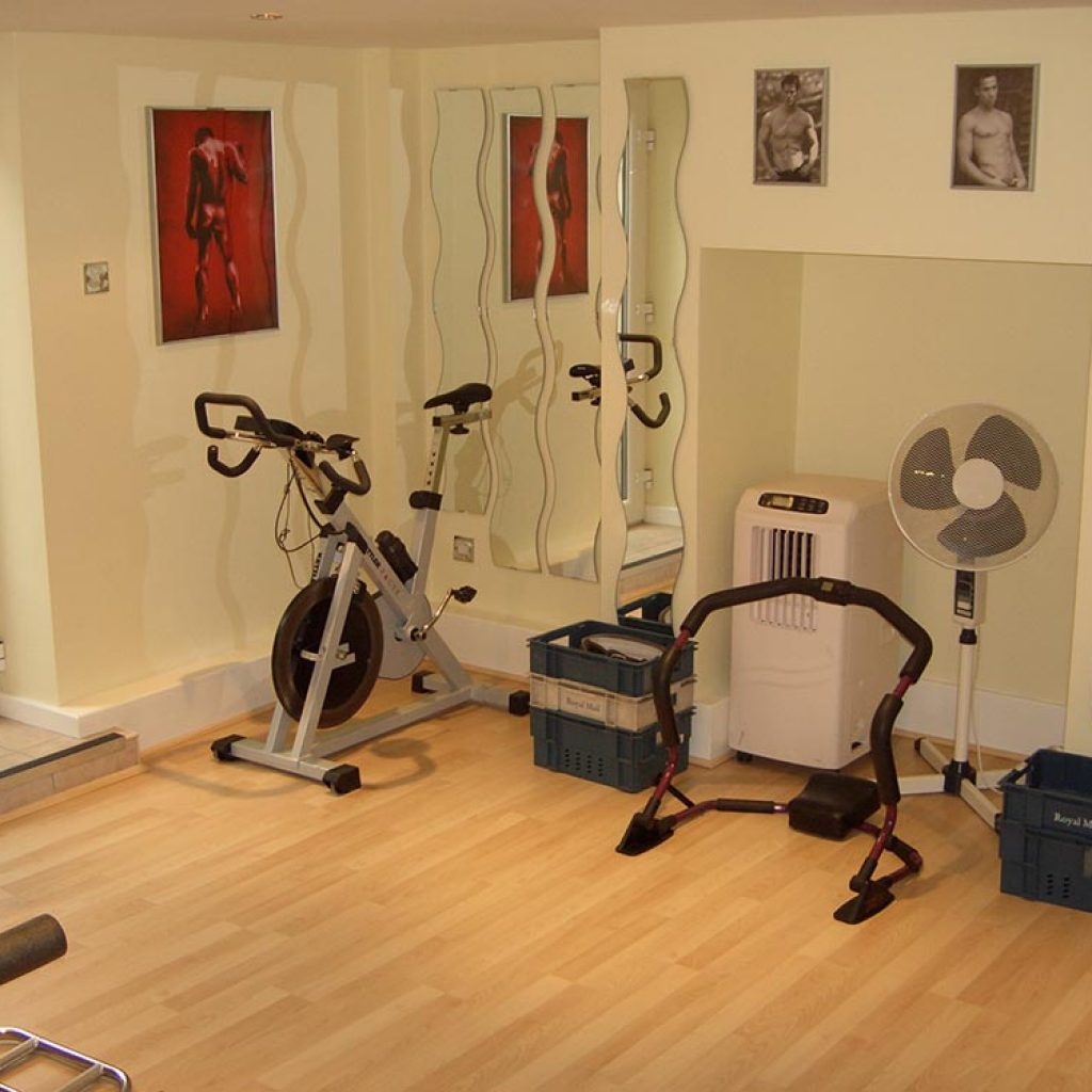 Basement Workout Area: Basement Conversion
