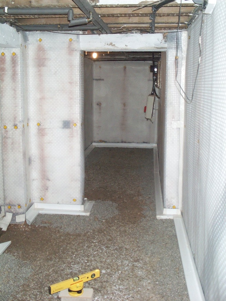 Basement conversion home gym rtc group remedial for Building a sauna in the basement