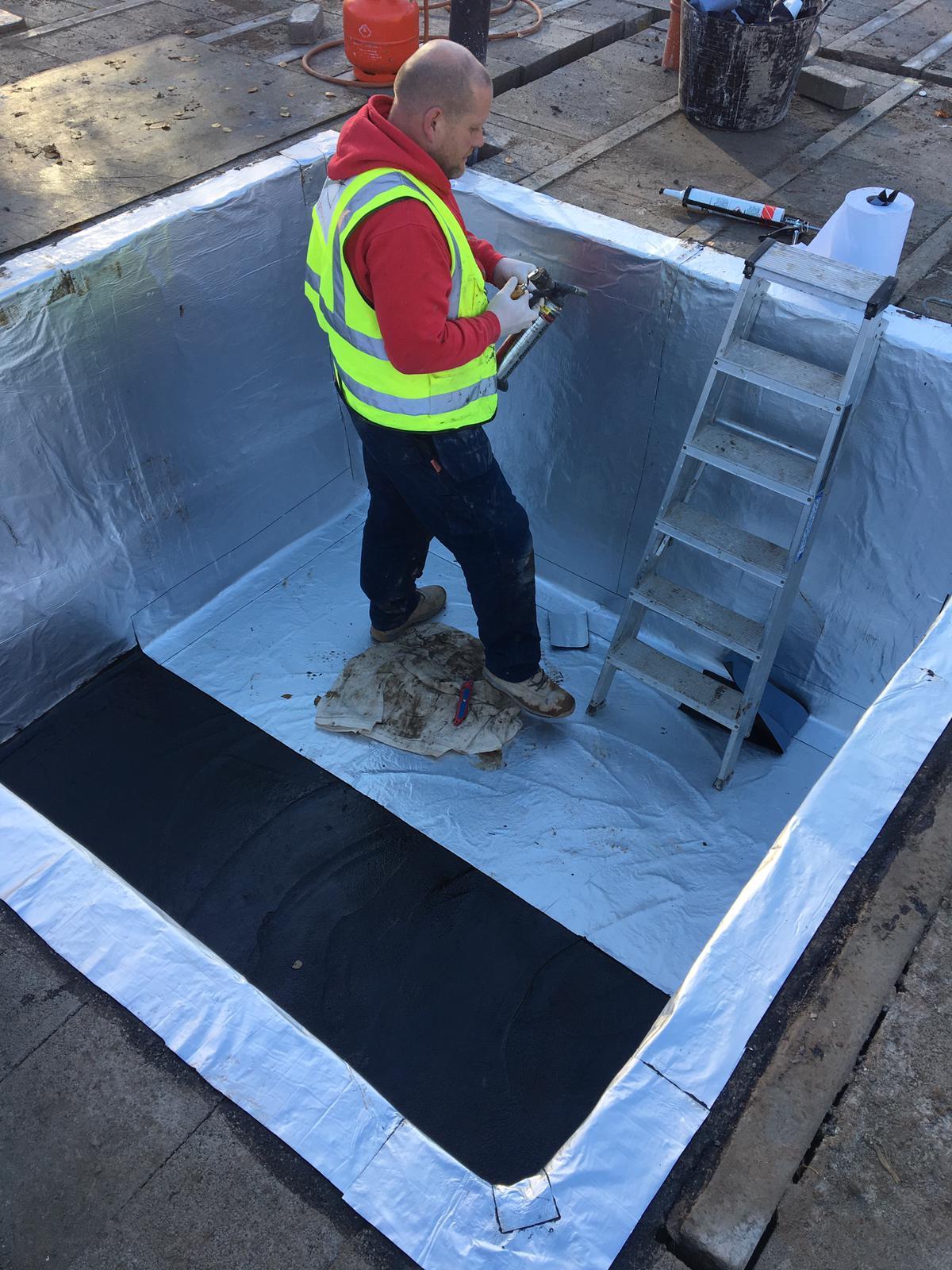 lift pit installation