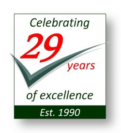 29 Years Logo